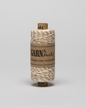 "CORDEL BAKER TWINE ""COPPER-WHITE"""