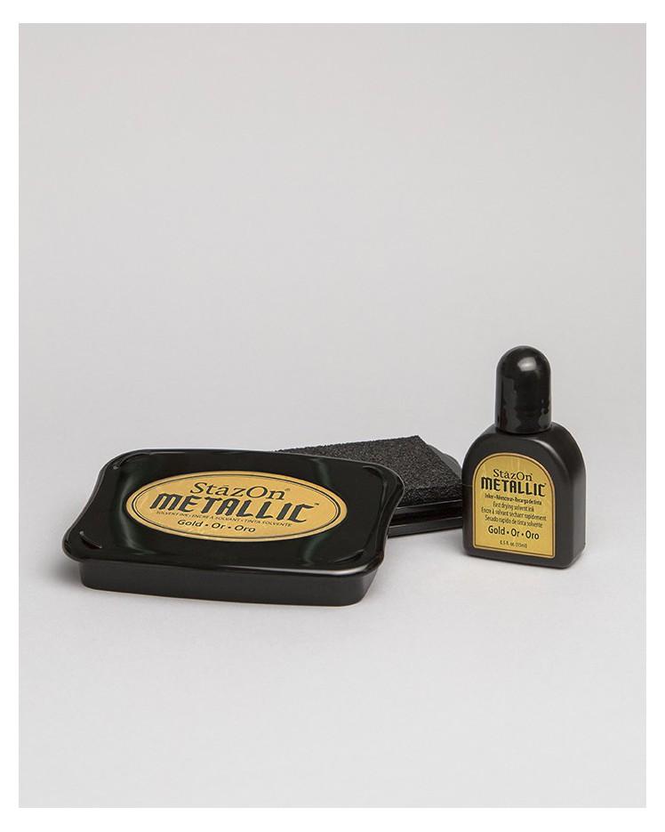 """Tinta Premium """"Oro metálico"""""""