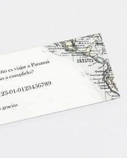 """Lista de boda """"Mapa"""""""