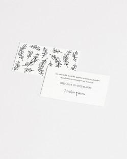 "Lista de boda ""Postal"""