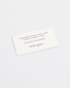 """Lista de boda """"Polaroid"""""""
