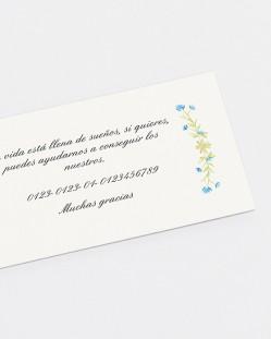 "Lista de boda ""Invierno"""