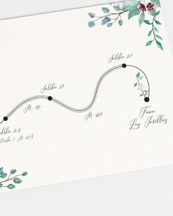 """Mapa """"Eucalipto y rosas"""""""