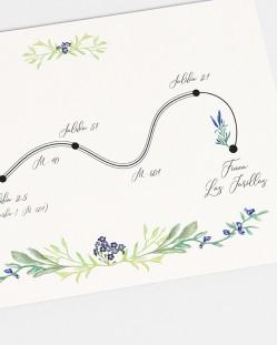 "Mapa ""Jacintos silvestres"""