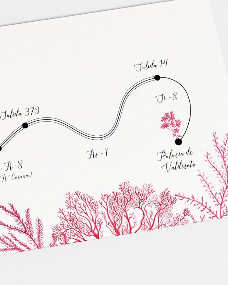 "Mapa ""Arrecife de coral"""