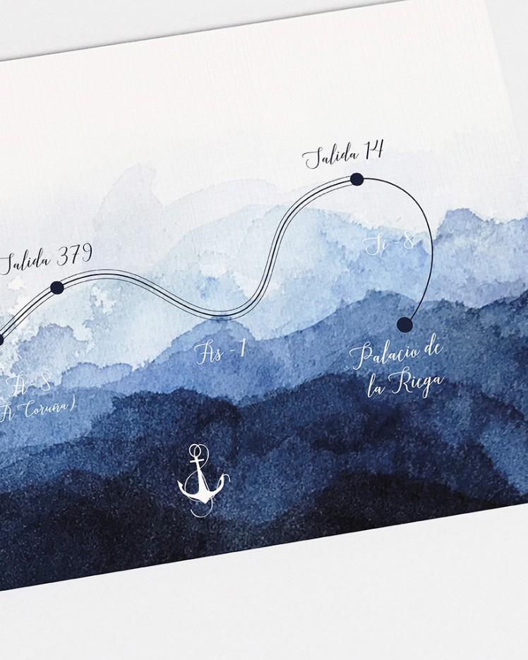 """Mapa """"Agua"""""""