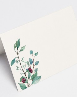 """Puestos de mesa """"Eucalipto y rosas"""""""