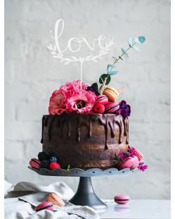 "Cake topper ""Wild love"""