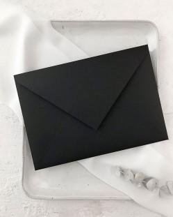 Sobre Negro para Invitaciones de Boda