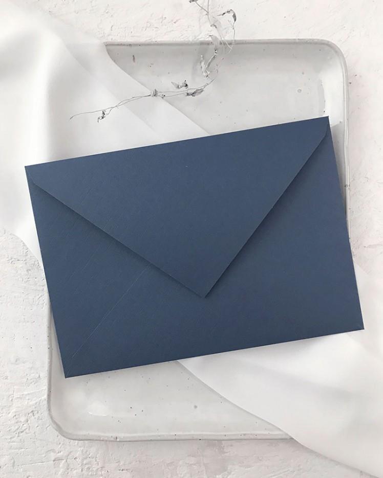 Sobre Azul Oscuro para Invitaciones de Boda