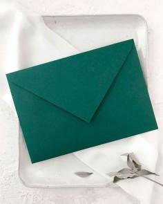 sobre verde esmeralda boda