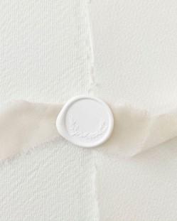 Barras de Lacre Blanco Algodón (Pack de 5)