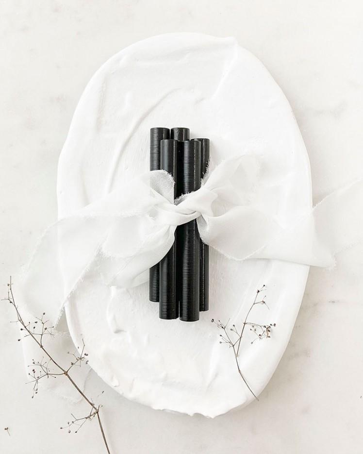 Barras de Lacre Negro Ónix (Pack de 5)