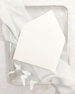 Sobre Blanco Roto B6 para Invitaciones de Boda