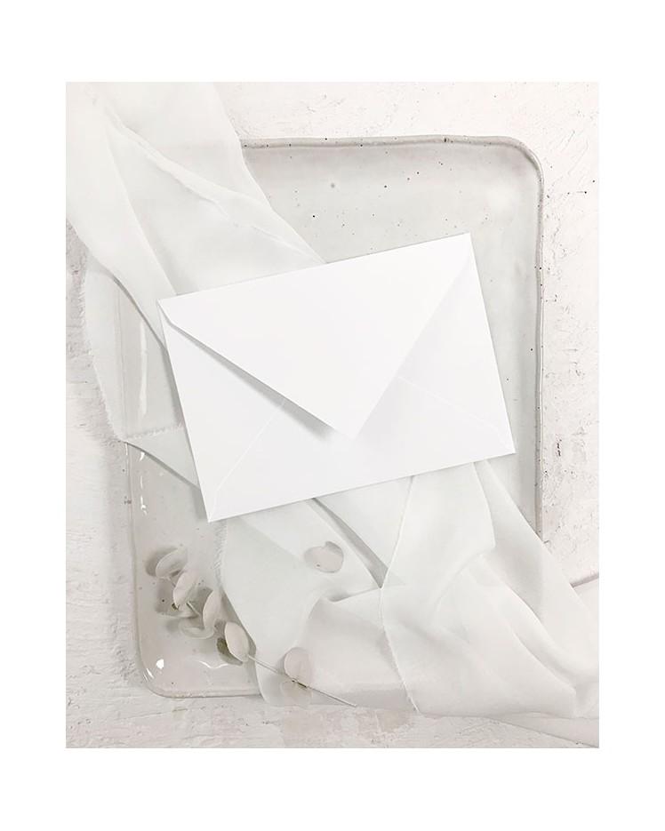 Sobre Blanco Nieve B6 para Invitaciones de Boda