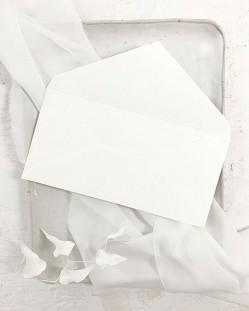 Sobre Blanco Roto Americano para Invitaciones de Boda