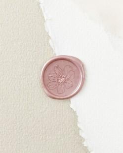Sello de Lacre Rosa Silvestre