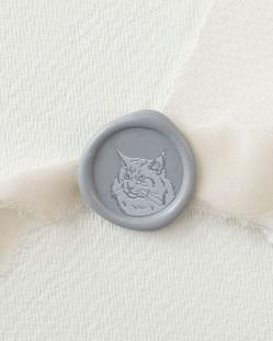 Sello de Lacre Gato Maine Coon