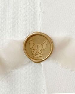 Sello de Lacre Perro Bulldog Francés