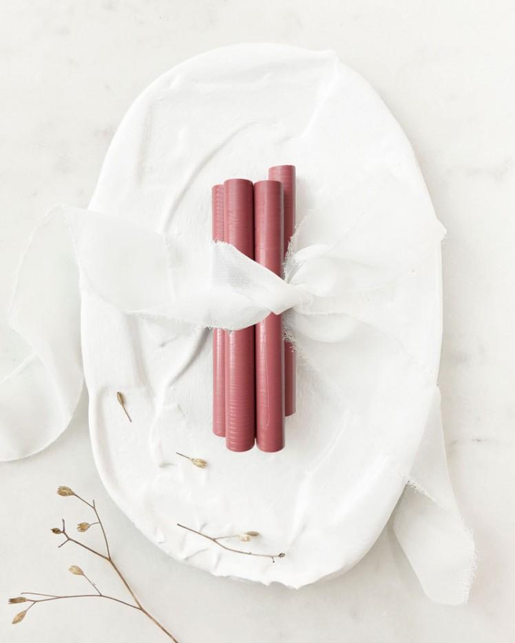 Barras de Lacre Rosa Vintage (Pack de 5)