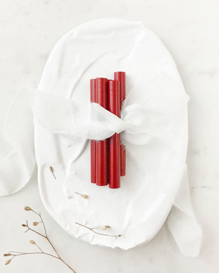 Barras de Lacre Rojo Rubí (Pack de 5)