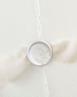 Barras de Lacre Blanco Perla (Pack de 5)