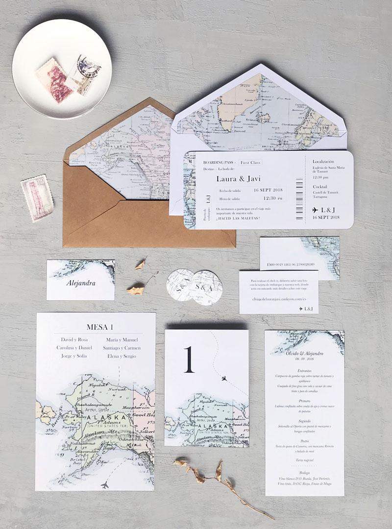 Invitaciones originales boda