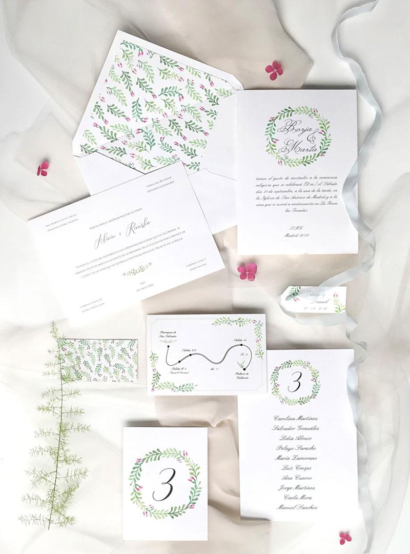 Invitaciones originales para bodas