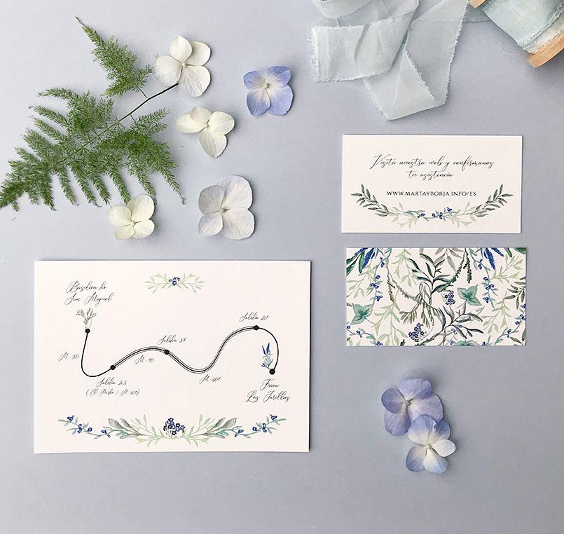 Invitaciones de boda complementos